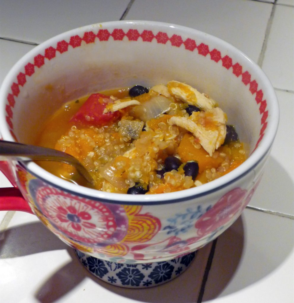 Hearty Chicken Stew with Butternut Squash & Quinoa Recipe | Making ...