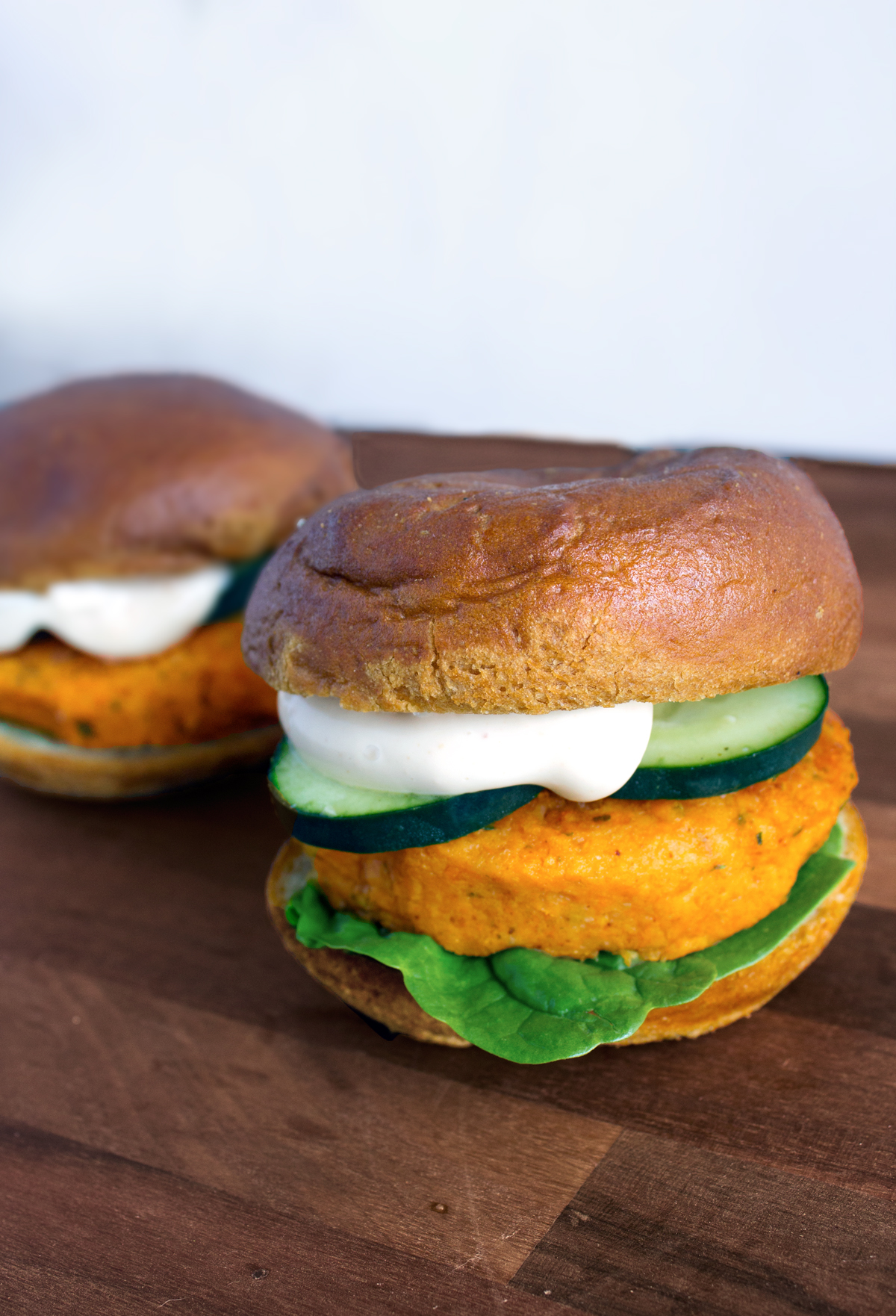 Sweet Potato Falafel Burgers | Making Life Sweet with Lauren Gaskill